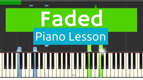 tutorial piano faded alan walker faded piano tutorial best version with