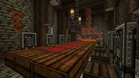 dining table make dining table minecraft