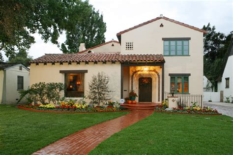 spanish colonial revival spanish revival restoration mediterranean exterior