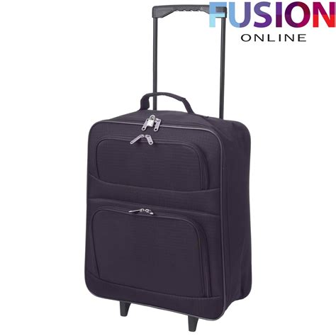 suitcase cabin cabin luggage suitcase ryanair wheeled trolley travel