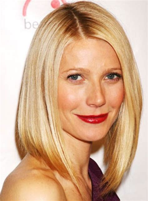 long bob hairstyles gwyneth paltrow gwyneth paltrow long bob hair beauty pinterest