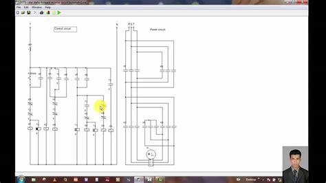 reversing motor starter wiring diagram plc single