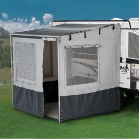 travel trailer awning screen room carefree of colorado 37101fev weekend r 2 5m van add a