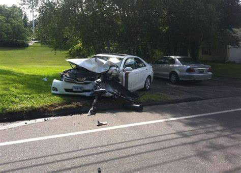 cops texting driver caused easton turnpike crash