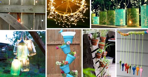 diy decorations for outside 40 outstanding diy backyard ideas
