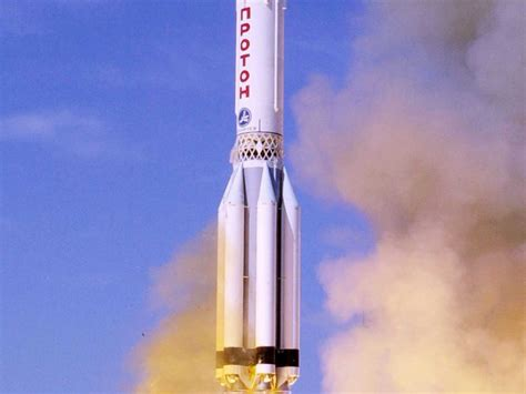 Russian Proton Rocket by Russian Proton Racks Up Another Failure With Loss Of