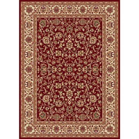 Tayse Rugs Sensation Red 7 Ft 10 In X 10 Ft 6 In Rugs Home Depot