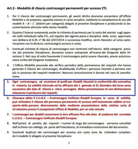 quanto tempo ci vuole per rinnovare il permesso di soggiorno rinnovo permessi ztl perch 233 il comune vuole complicare la