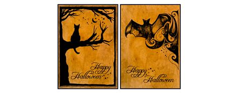 halloween printable greeting cards printable halloween cards dimensions of wonder