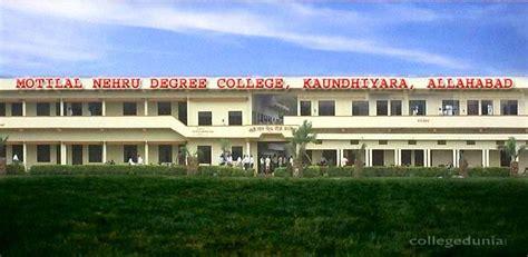 Mnnit Allahabad Mba Cut by Moti Lal Nehru College Mlnmc Allahabad