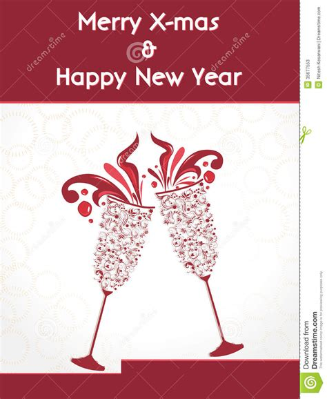 happy new year creative wishes creative happy new year 2014 design with chagne glasses