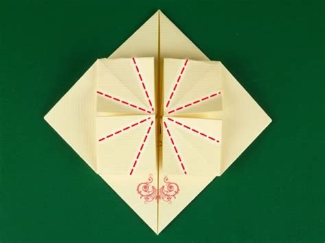 Note Folding Origami - how to make origami notes step by step