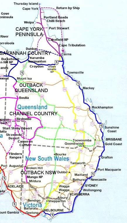 road map of australia east coast aussie 4x4 adventures guided tag along and tours