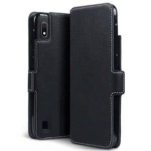 Samsung A10 Zwart by Samsung Galaxy A10 Hoesje 3 In 1 Bookcase Dun Zwart