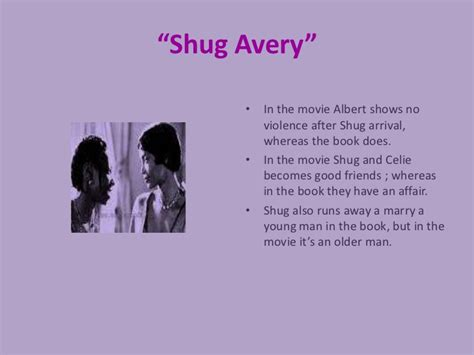 shug avery the color purple book the color purple