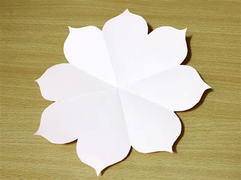 Difference Between Origami And Kirigami - how to create a kirigami flower 7 steps with pictures