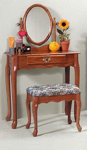 oak vanity table with mirror and bench oak vanity stool set vanity table bench mirror