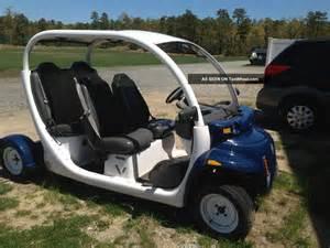 Electric Car Golf Cart 2002 Gem E825 Car Lsv Electric Vehicle Golf Cart