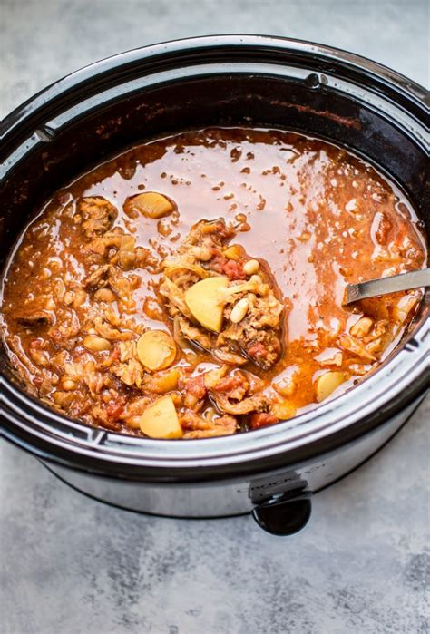 Crock Pot Cabbage Detox Soup by Crockpot Cabbage Soup With Beans Sausage And Potatoes