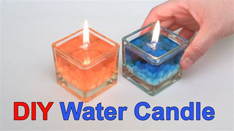 household diy projects for less than 50 diy beautiful water candle youtube