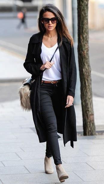 Jaket Angela Pink Black Grey shoes suede boots coat t shirt
