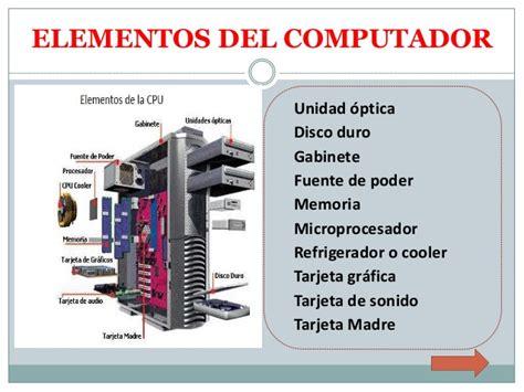 gabinete y fuente de poder funcion elementos pc