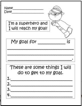 printable reading goal sheets best 25 student goal settings ideas on pinterest goal