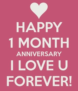 month anniversary quotes happy quotesgram