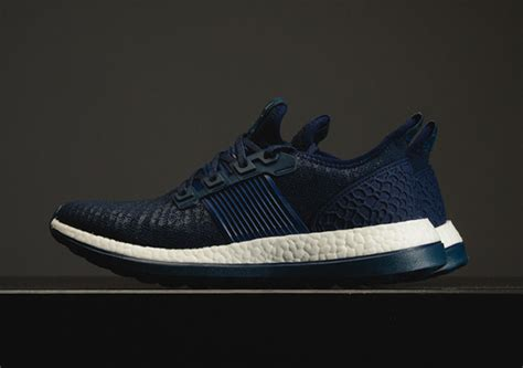 adidas pure boost the adidas pure boost zg releases in tonal navy