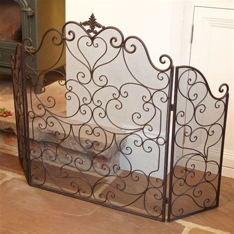 Cast Iron Fireplace Screen by Footed Cast Iron Screen Hearts Best Cast Iron Country Farmhouse And