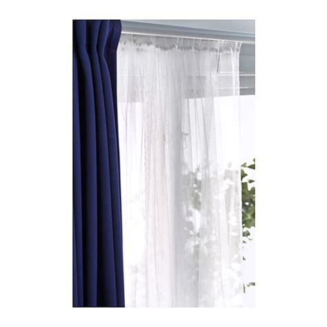 Ikea Lill Curtains Decor Lill Lace Curtains 1 Pair White Nooks Diy Canopy And Net Curtains