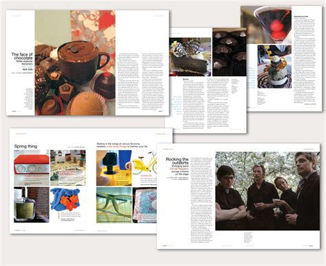 magazine layout design pinterest sonoma magazine the art dept