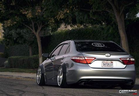 stanced toyota camry stance toyota camry 2016 back