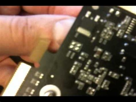 replacing capacitors on graphics card how to repair graphic cards with blown capacitors ati nvidia amd