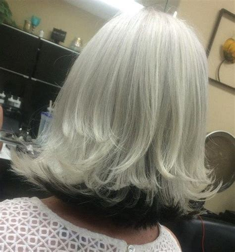 what is an underlayer hair cut white blonde grey hair styles and long bobs on pinterest