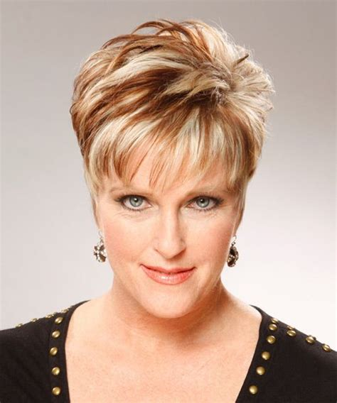 hairstyles with bangs for 60 short hairstyles for women over 60 who wear glasses