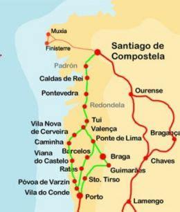 camino de santiago lunghezza santiago de compostela cammino di santiago