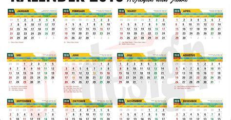 desain kalender anime free download kalender 2018 lengkap hijriyah jawa u rdesign