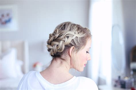 Crown Hairstyle by Easy Diy Crown Braid Hairstyles