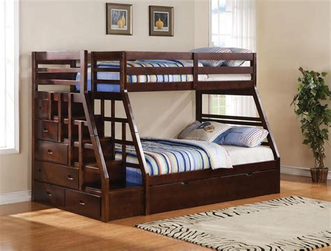 bunk beds stairs bunk beds with stairs and storage