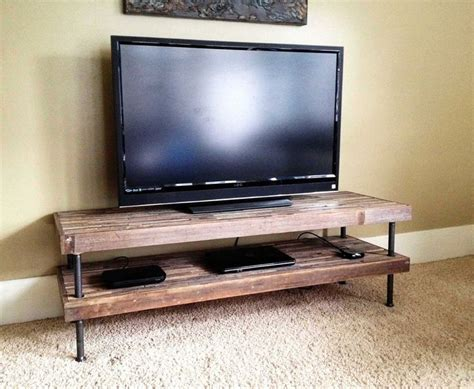 Plumbing Pipe Tv Stand by 17 Best Ideas About Industrial Tv Stand On