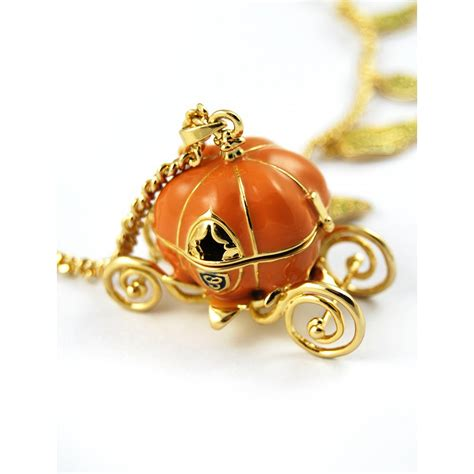 Disney Couture Cinderella Pumpkin Necklace