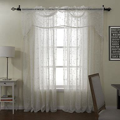 Myrten 01 Net Curtains 1 Pair White pin by tara ess on 101