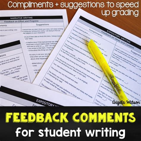comments to write on students papers essay for 10 class