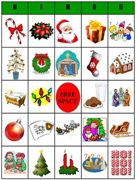 christmas bingo cards for large groups my blog