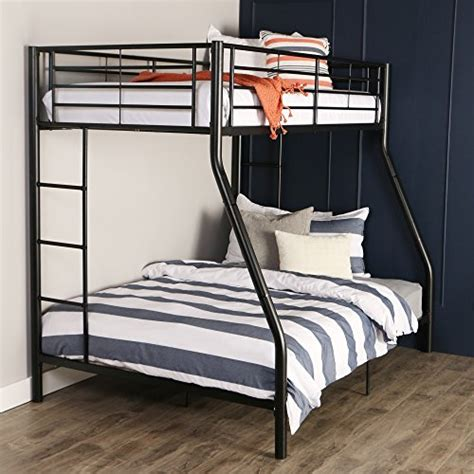 amazon com walker edison twin over twin metal bunk bed black kitchen dining walker edison twin over full metal bunk bed black kitchen in the uae see prices