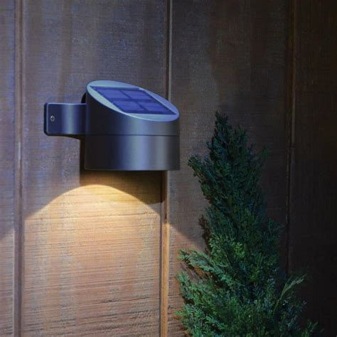 lights solar powered solar powered wall mounted lights 19 eco friendly ways