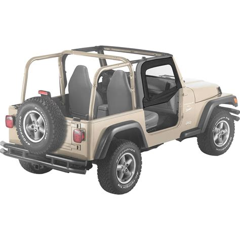 Jeep Wrangler Tj Half Doors Bestop Set Of 2 Half Doors Front New Jeep Wrangler Tj