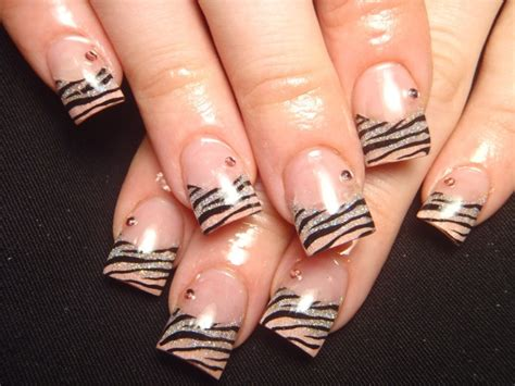 new nail style colorful french nail art designs 2011