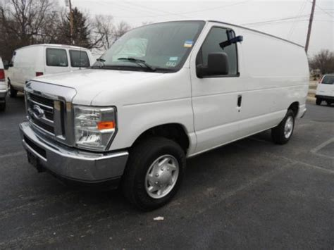 how to work on cars 2010 ford e series navigation system find used 2010 ford e 150 cargo work van w insulated walls chrome and power options in white